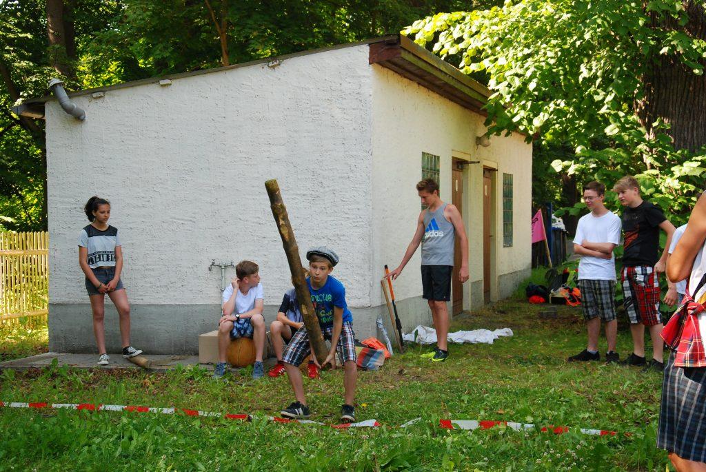 Eine schöne Tradition: Highland-Games am Gymnasium Schmölln.