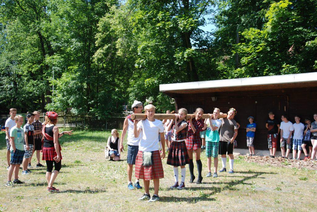 Der Förderverein Gymnasium Schmölln unterstützte die Highland-Games finanziell.
